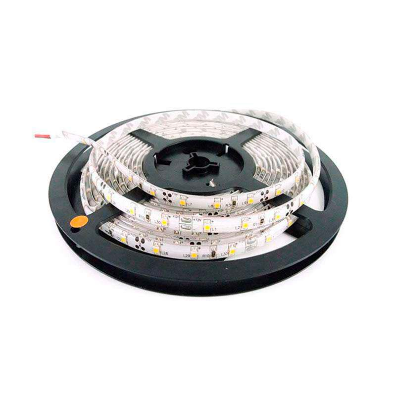 Tira LED flexible SMD5050, 5m (60 Led/m) - IP20, Amarillo